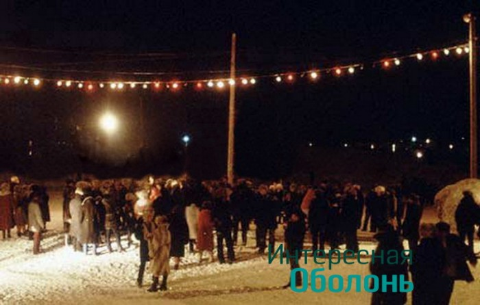Новогодняя ночь 70-х