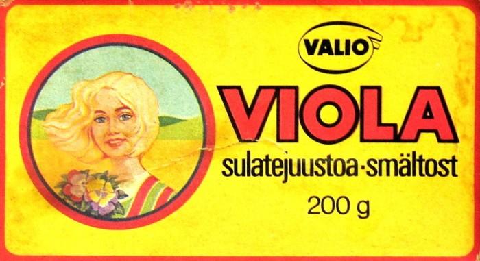 """Финский плавленый сыр """"Виола"""""""