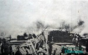 """Склад Гинзбурга, """"Киевская мысль"""", 1908 год."""