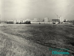 Озеро Вербное. Фото В. Дядюшенко, 1981 год