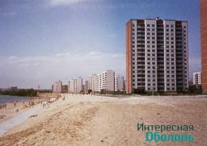 Озеро Вербное. Фото В. Дядюшенко, 1982 год
