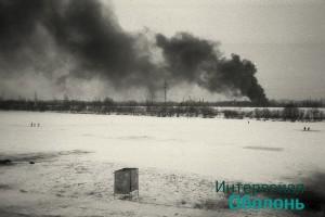 Озеро Вербное. Фото В. Дядюшенко, 1993 год