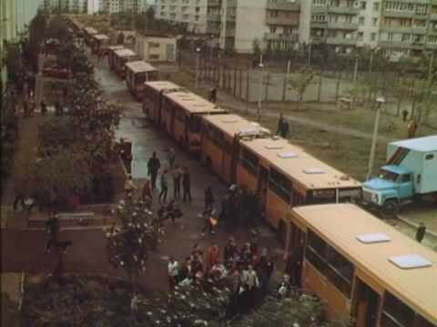 Оболонь, ул. Приречная, 1990 год.