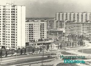 улица Малиновского со стороны универсама